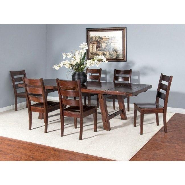 Vineyard Rustic Extension Dining Room Set
