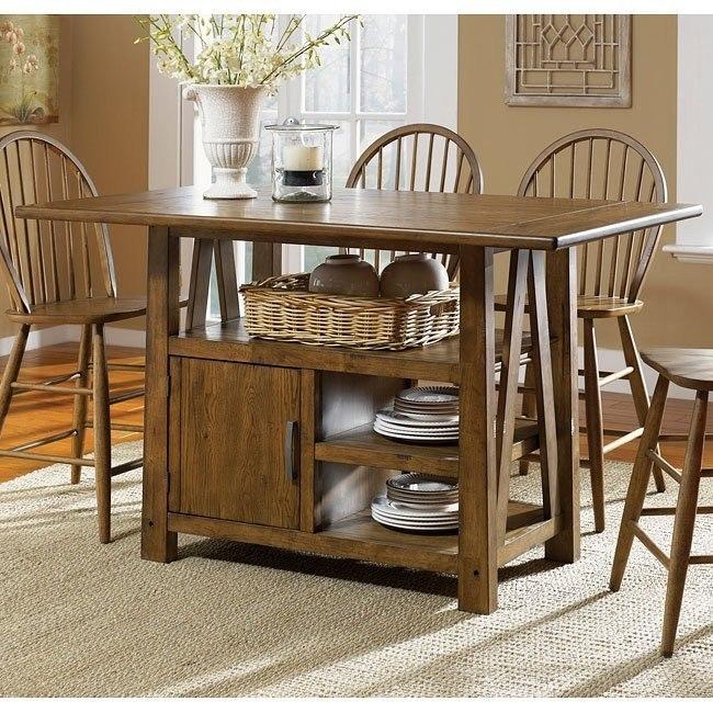 Admirable Farmhouse Counter Height Island Table Customarchery Wood Chair Design Ideas Customarcherynet