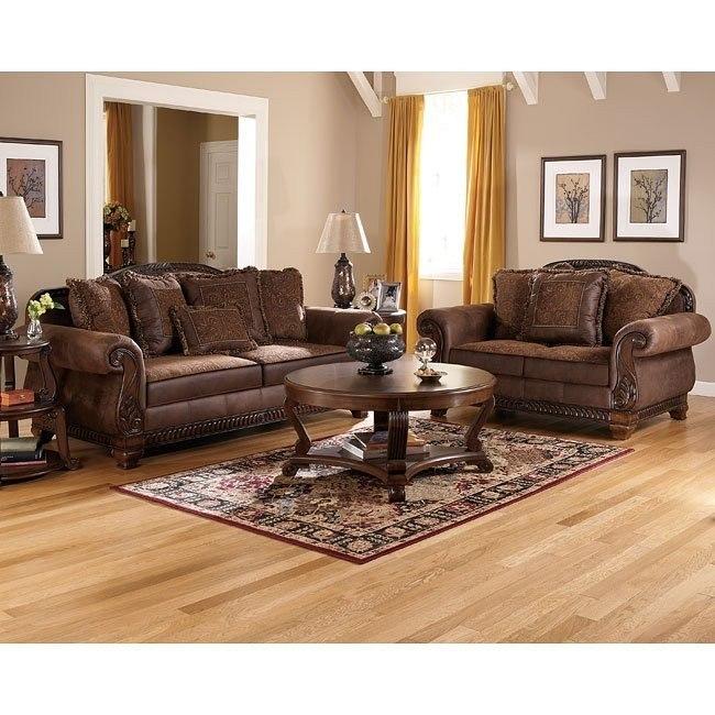 Bradington Truffle Living Room Set