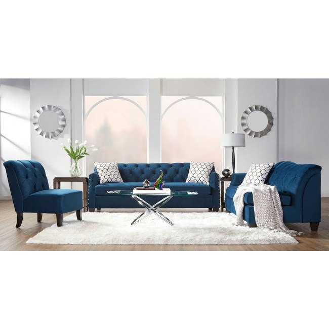 16150 Series Bing Indigo Living Room Set