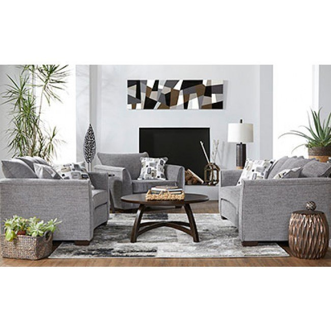 16700 Series Seville Charcoal Living Room Set Hughes Furniture