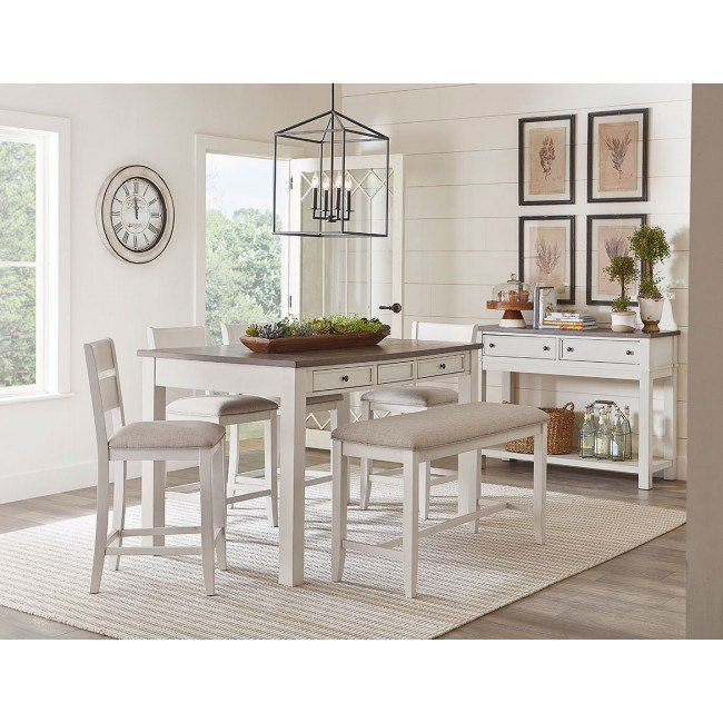Counter Height Dining Sets With Bench Seating