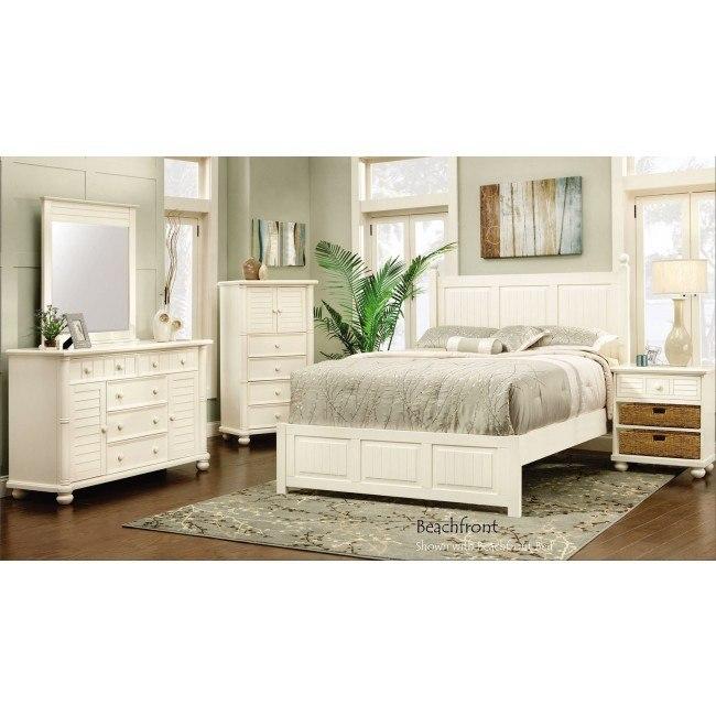 Beachfront Panel Bedroom Set (Cottage White)