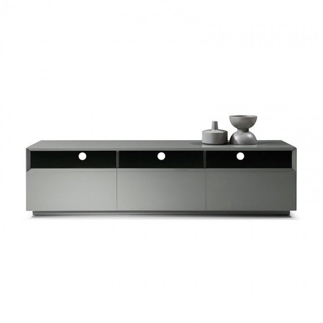 on sale 3f5a9 70113 TV 023 Grey Gloss TV Stand
