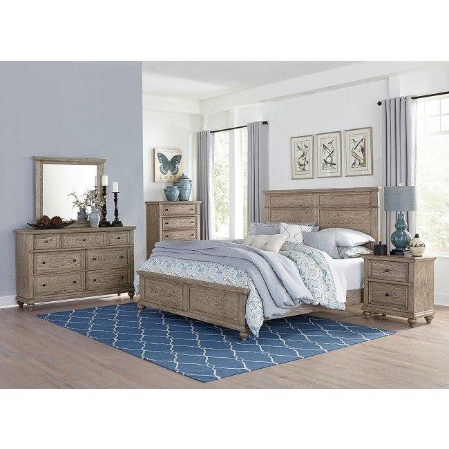 Barbour Panel Bedroom Set Homelegance Furniture Cart