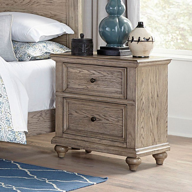 Barbour Nightstand W Power Strip And Usb Homelegance Furniture Cart