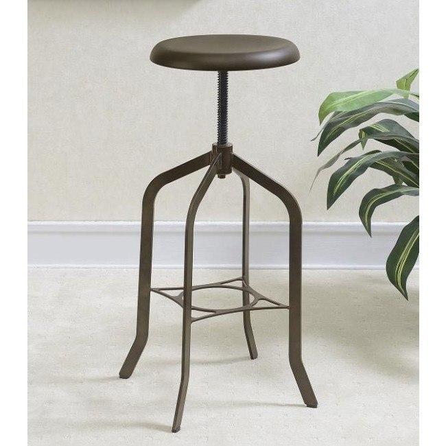 Enjoyable Bronze Adjustable Bar Stool Cjindustries Chair Design For Home Cjindustriesco