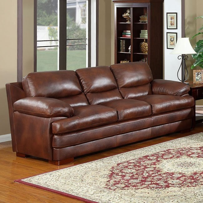 Baron Leather Sofa