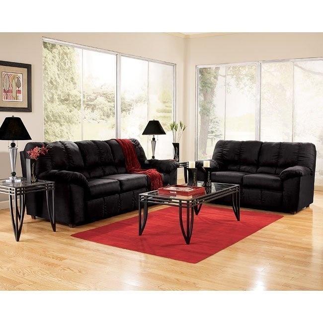 Sha-Shou - Black Living Room Set