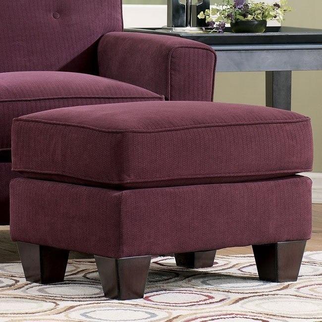 Peachy Danielle Eggplant Ottoman Evergreenethics Interior Chair Design Evergreenethicsorg
