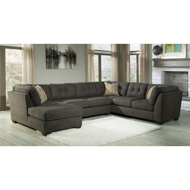Remarkable Delta City Steel Left Chaise Sectional Beatyapartments Chair Design Images Beatyapartmentscom