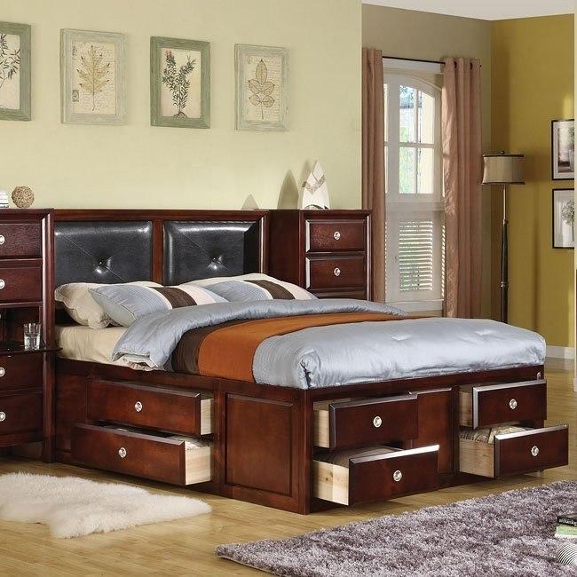 Addison Panel Captain Bed World Imports