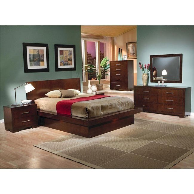 Jessica Platform Bedroom Set Coaster Furniture Furniture