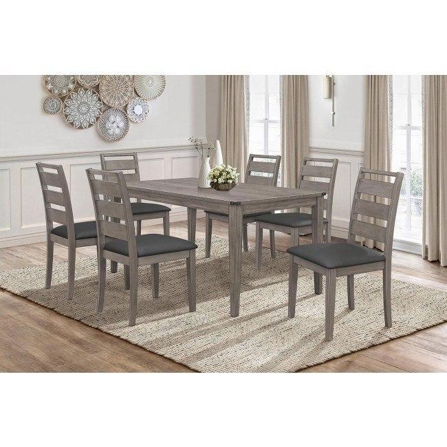 Woodrow Dining Room Set Homelegance Furniture Cart