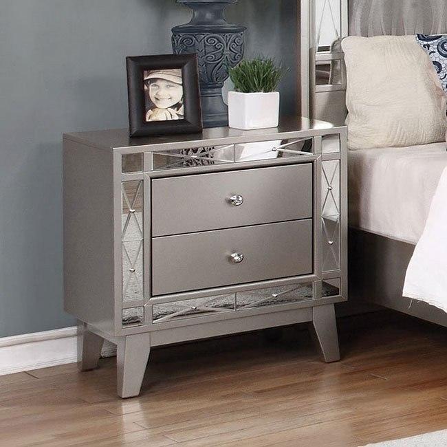 Leighton Nightstand Coaster Furniture Furniture Cart