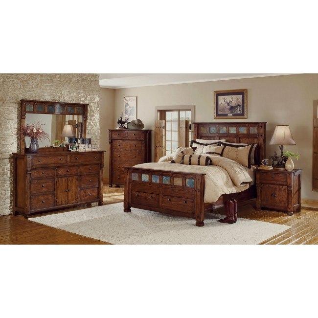 Santa Fe Storage Bedroom Set Sunny Designs | Furniture Cart