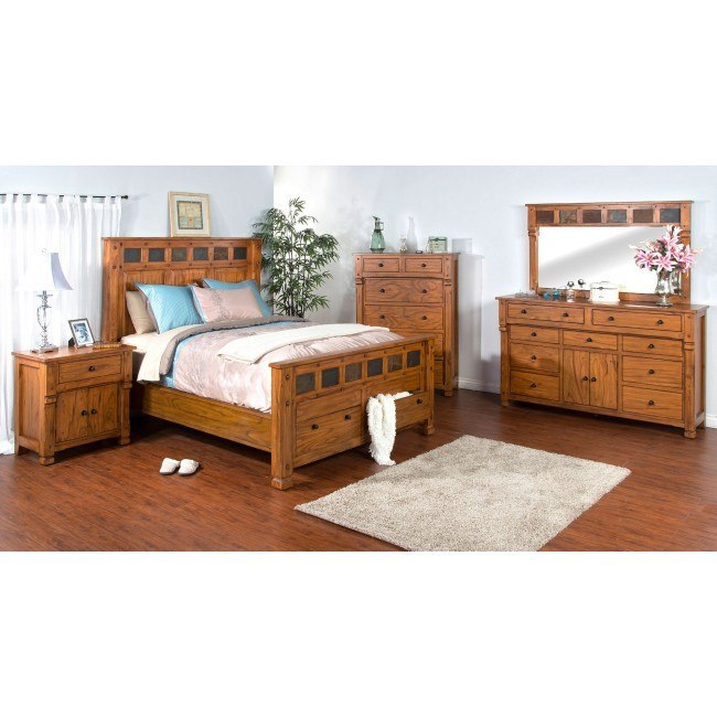 Sedona Storage Bedroom Set Sunny Designs | Furniture Cart