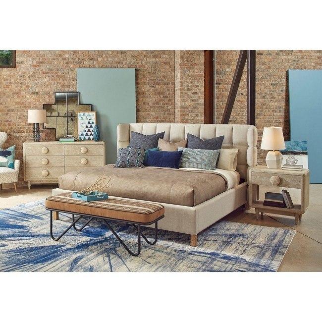 Epicenters Austin North Loop Upholstered Bedroom Set ART ...