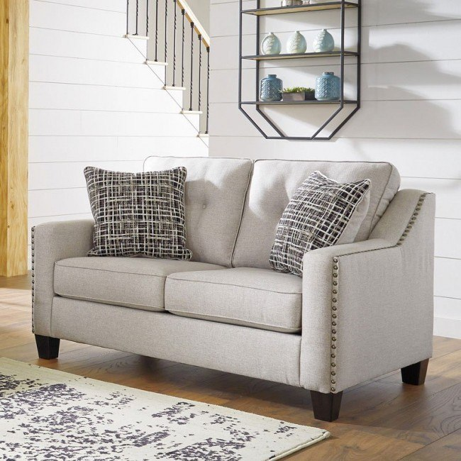 Cool Marrero Fog Loveseat Beatyapartments Chair Design Images Beatyapartmentscom