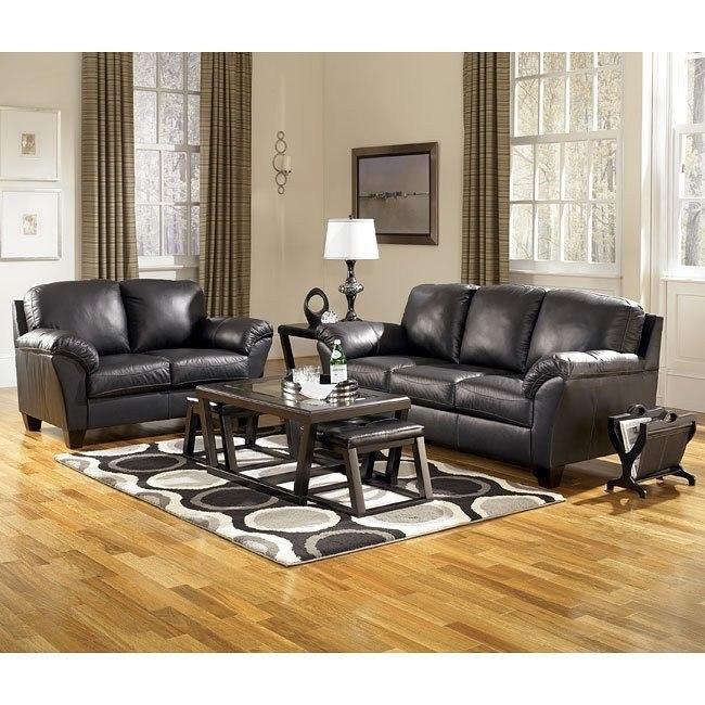 Rivergate - Black Living Room Set