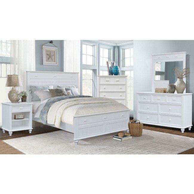 Fishtails Panel Bedroom Set