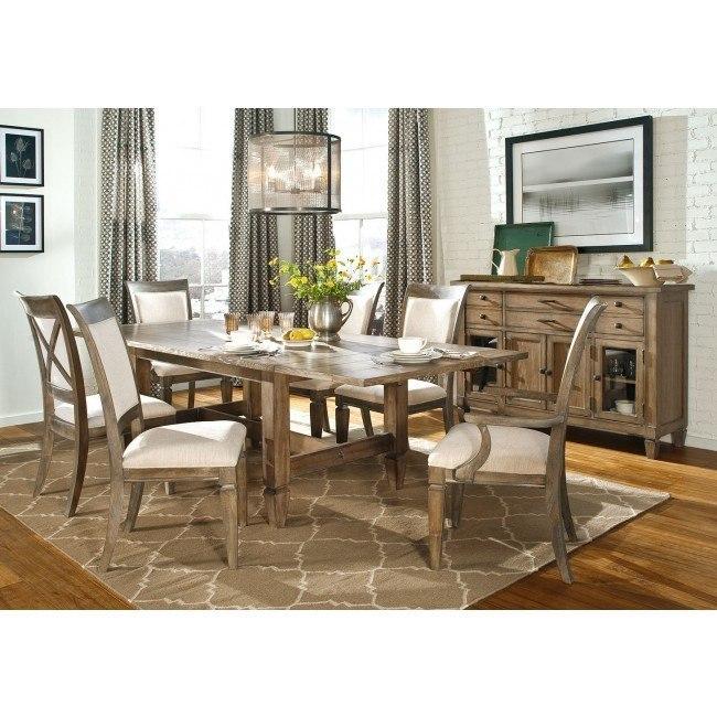 Brownstone Village Trestle Dining Room Set Legacy Classic Furniture Cart
