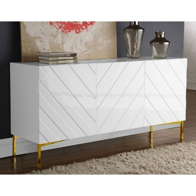 Collette Sideboard Buffet White Gold