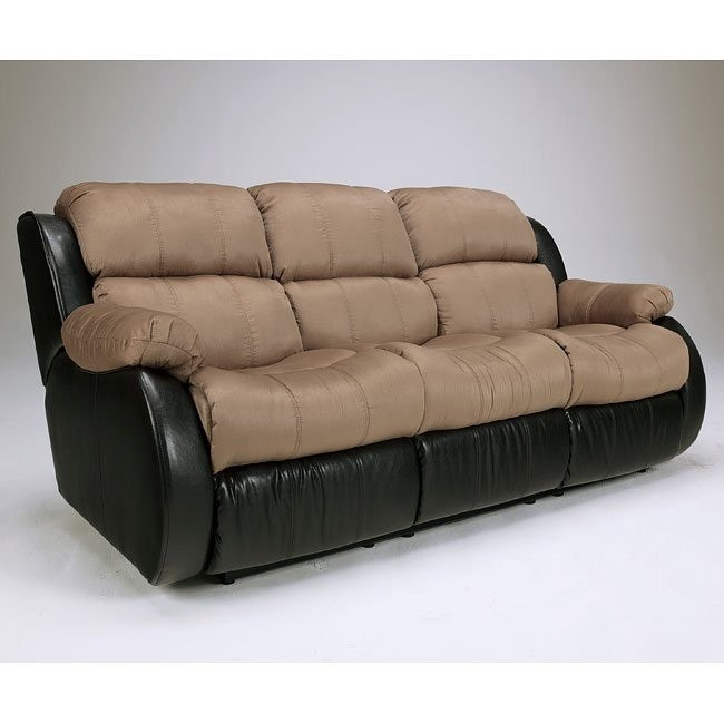 Strange Presley Cocoa Reclining Sofa W Massage Andrewgaddart Wooden Chair Designs For Living Room Andrewgaddartcom