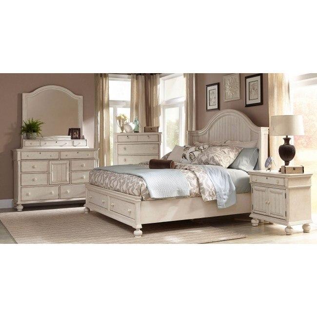 Newport Storage Bedroom Set American Woodcrafters Furniture Cart