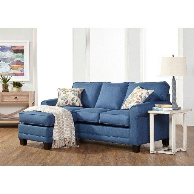 3730 Series Jitterbug Denim Sofa Chaise