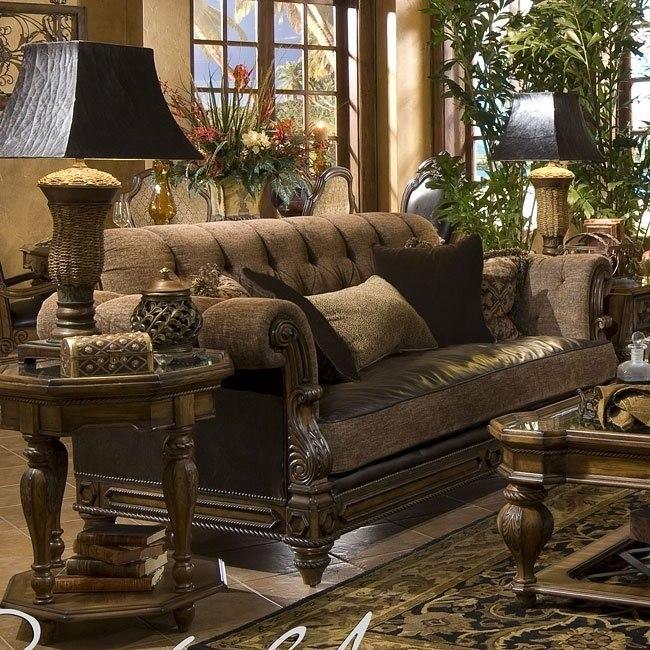 Leather Fabric Sofa Aico Furniture