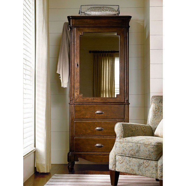 River House Dressing Armoire (River Bank) Paula Deen Home | Furniture Cart