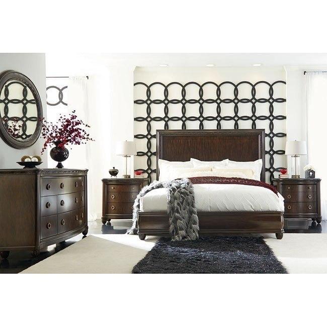 Bob Mackie Home Panel Bedroom Set American Drew | Furniture Cart