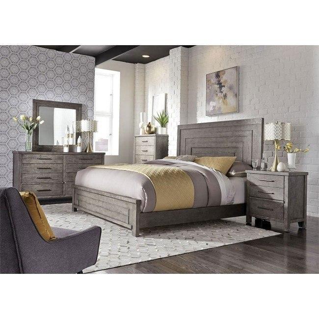 Modern Farmhouse Panel Bedroom Set Liberty Furniture Furniture Cart