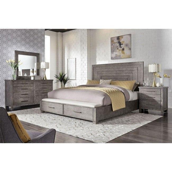 Modern Farmhouse Storage Bedroom Set