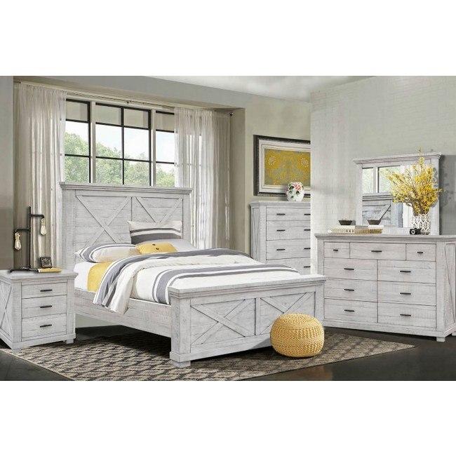 Crossing Lakes Panel Bedroom Set Cottage Creek Furniture Furniture Cart