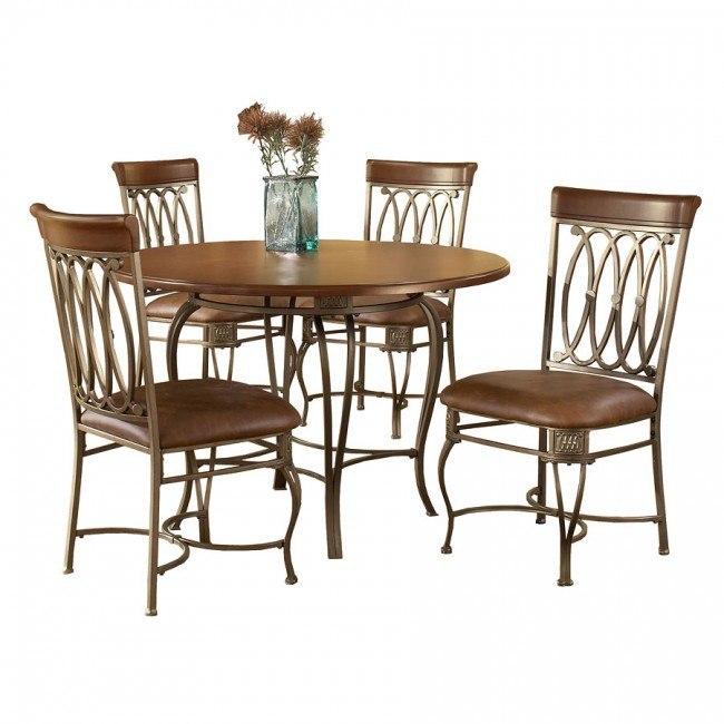 Montello 45 Inch Round Dining Room Set Hillsdale Furniture Furniture Cart