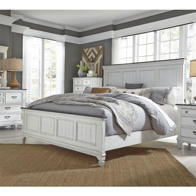 Allyson Park Panel Bedroom Set Liberty Furniture 3 Reviews Furniture Cart