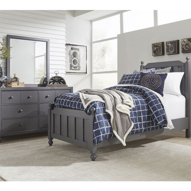 Cottage View Youth Panel Bedroom Set Dark Gray Liberty Furniture Furniture Cart