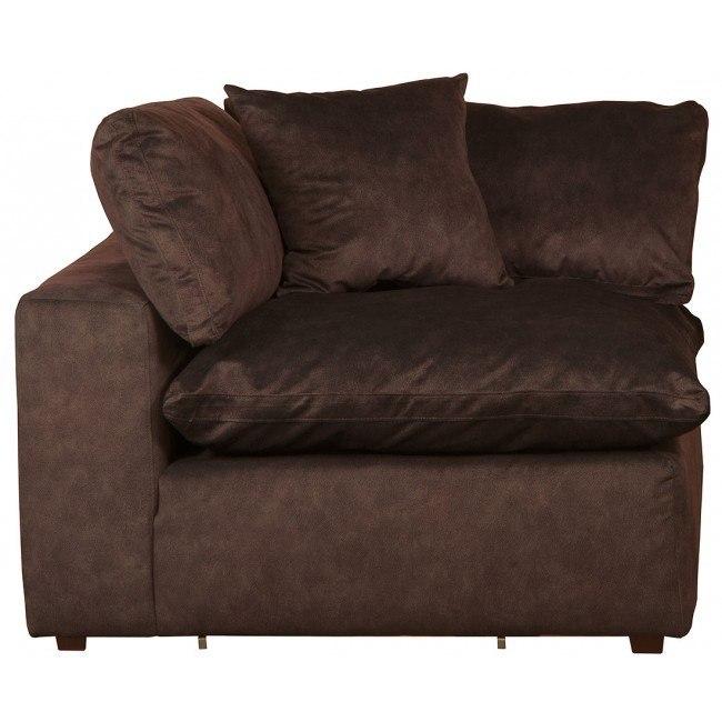 Plush Corner Chair (Mocha) Jackson Furniture