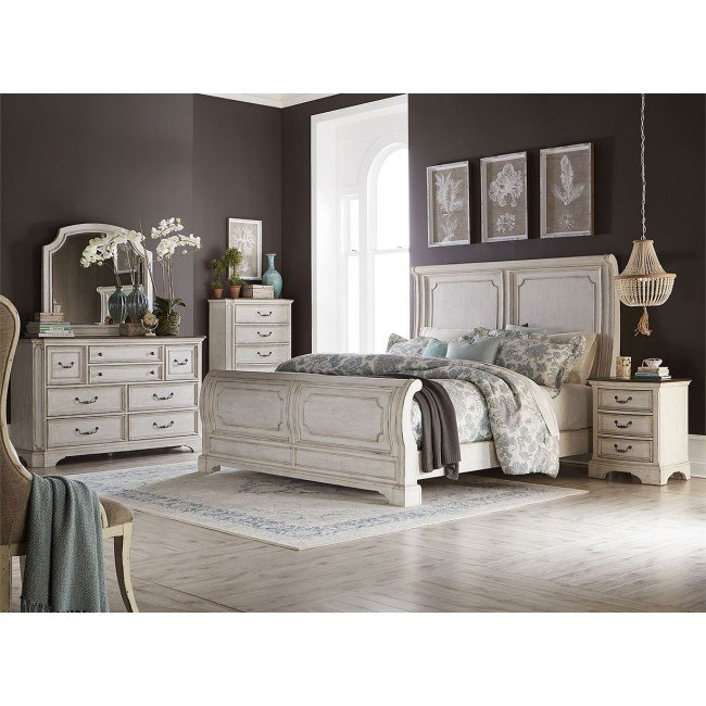 Abbey Road Sleigh Bedroom Set Liberty Furniture Furniture Cart