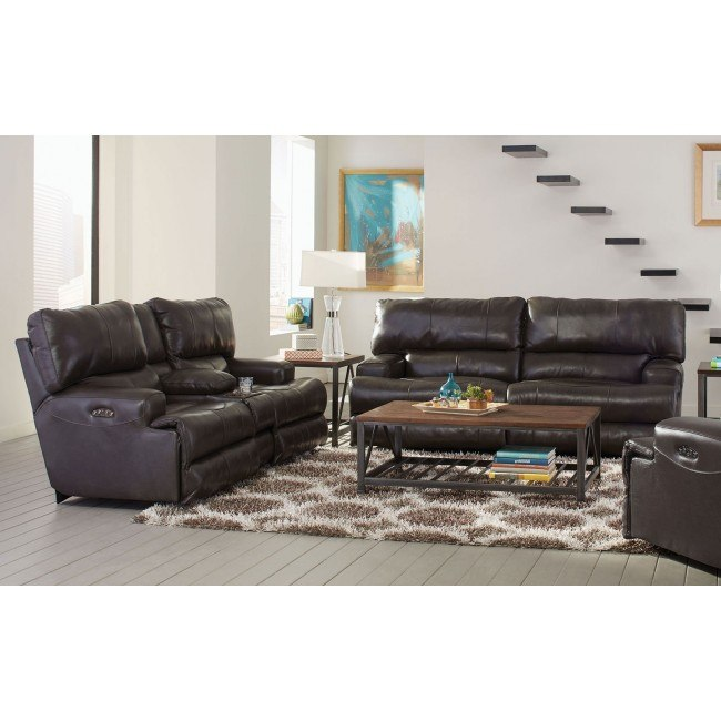 Remarkable Wembley Power Lay Flat Reclining Sectional W Power Headrests And Lumbar Steel Pabps2019 Chair Design Images Pabps2019Com