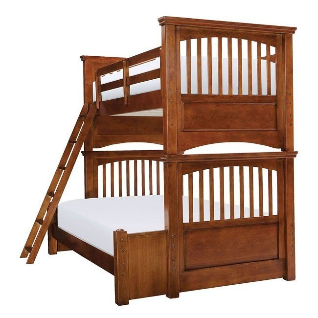 American Spirit Twin Over Full Bunk Bed Legacy Classic ...