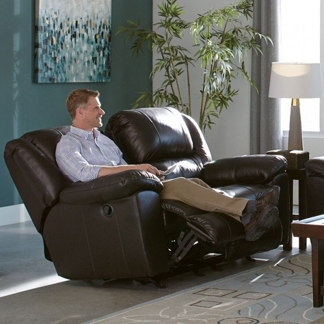 Superb Transformer Ii Rocking Reclining Loveseat Chocolate Italian Leather Squirreltailoven Fun Painted Chair Ideas Images Squirreltailovenorg