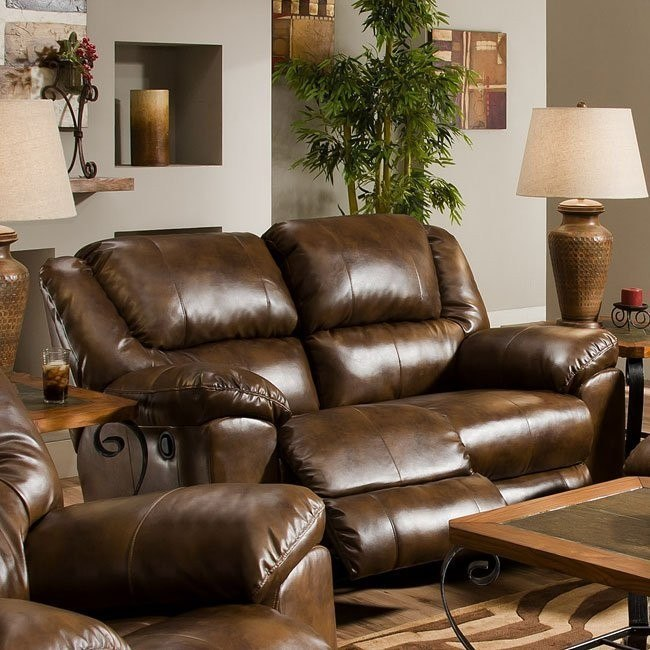Magnificent Transformer Leather Rocking Reclining Loveseat Gmtry Best Dining Table And Chair Ideas Images Gmtryco