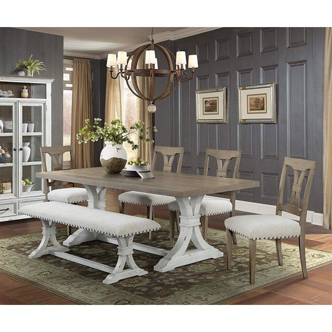 Vintage Revival Rectangular Dining Room