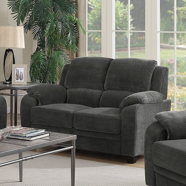 Northend Loveseat (Charcoal)