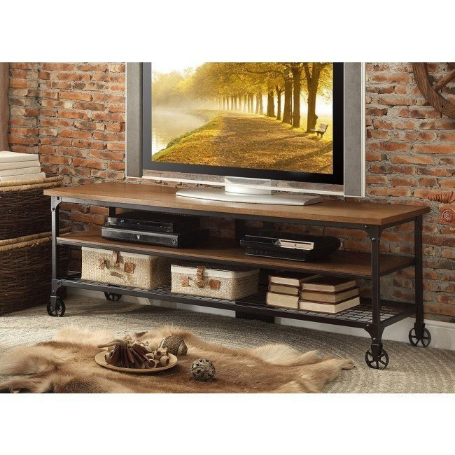 Millwood 65 Inch Tv Stand Homelegance Furniture Cart