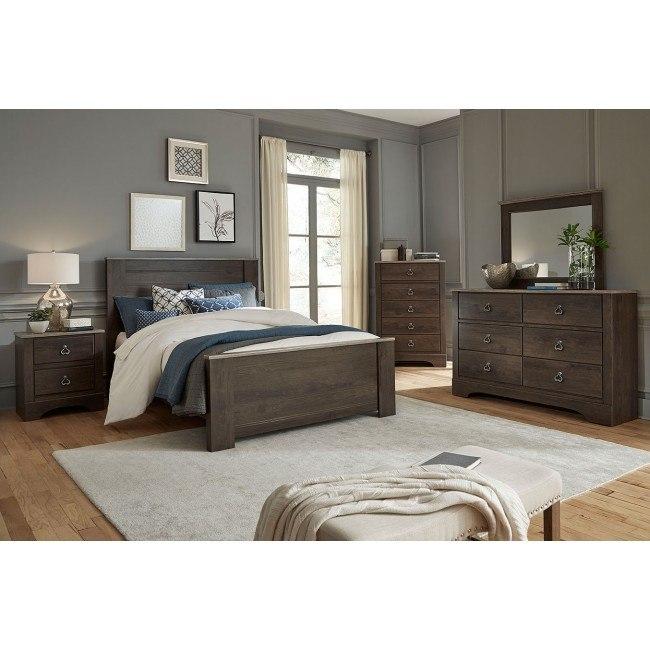Rivervale Dark Panel Bedroom Set