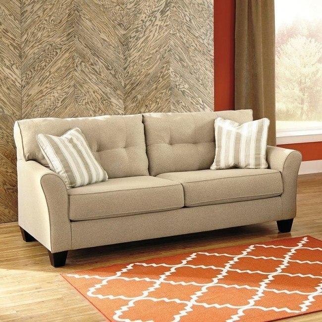 Laryn Khaki Sofa BenchCraft, 1 Reviews | Furniture Cart